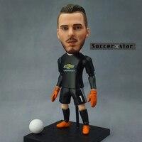 Soccerxstar Figurine Football Player Movable Dolls 1 DE GEA MU 2018 12CM 5in Figure BOX Include
