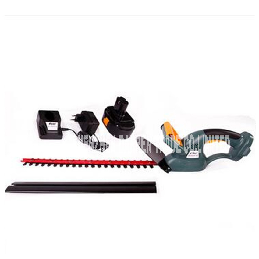 New arrival 18V Cordless Battery Powered Hedge Trimmer Garden Tools rechargeable battery Garden Supplies ET2501 hedgerow scissor
