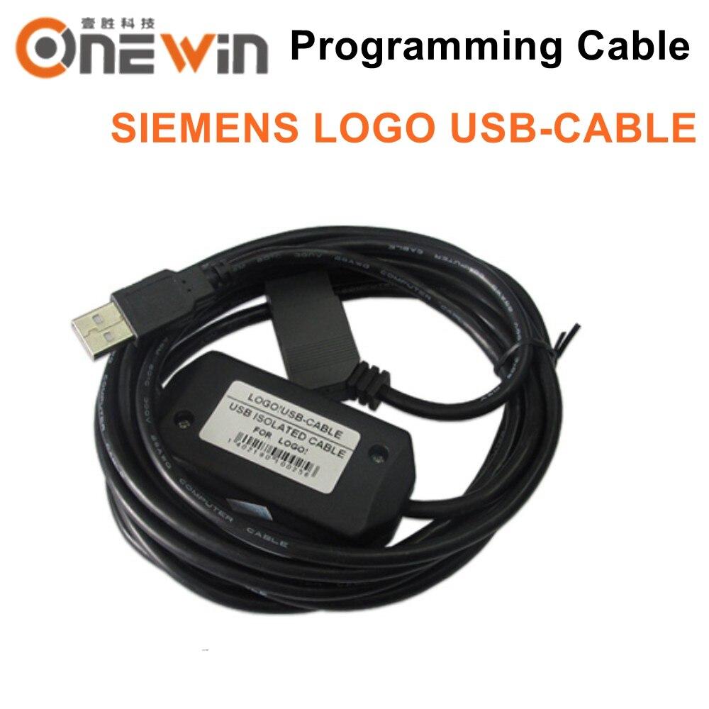SIEMENS LOGO CAVO USB Cavo di Programmazione per 6ED1057-1AA01-0BA0, 6ED1 057-1AA01-0BA0SIEMENS LOGO CAVO USB Cavo di Programmazione per 6ED1057-1AA01-0BA0, 6ED1 057-1AA01-0BA0