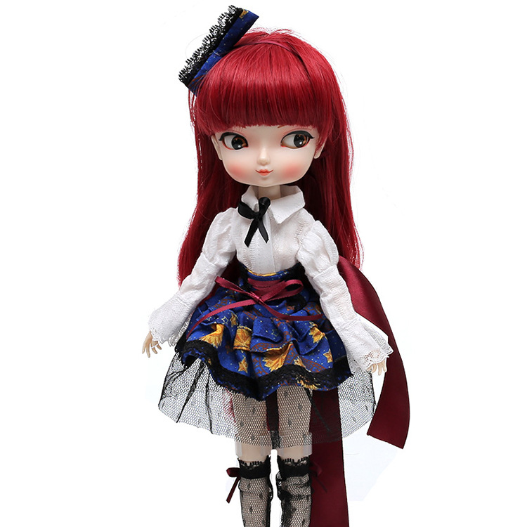 все цены на  12 inches cute BB.girl DOLL SD BJD dolls anime ball joint resin for kids collection toys  sb016  онлайн