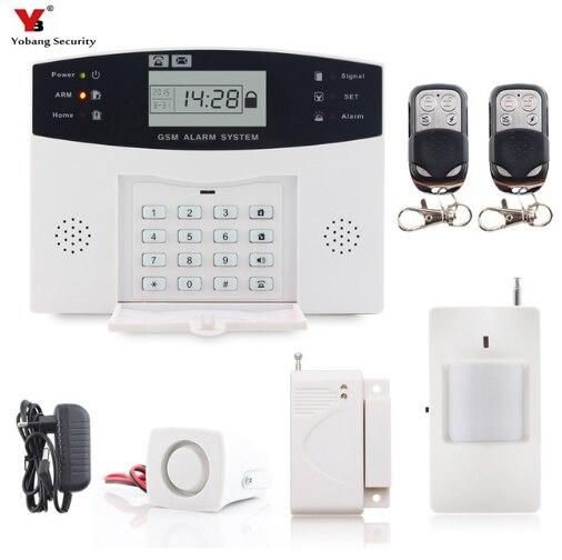 Sicherheitsalarm Smartyiba Wireless Home Gsm Sicherheit Alarm System Diy Kit Rauch Feuer Sensor Einbrecher Alarm System Russisch Französisch Spanisch Italienisch Eine Hohe Bewunderung Gewinnen