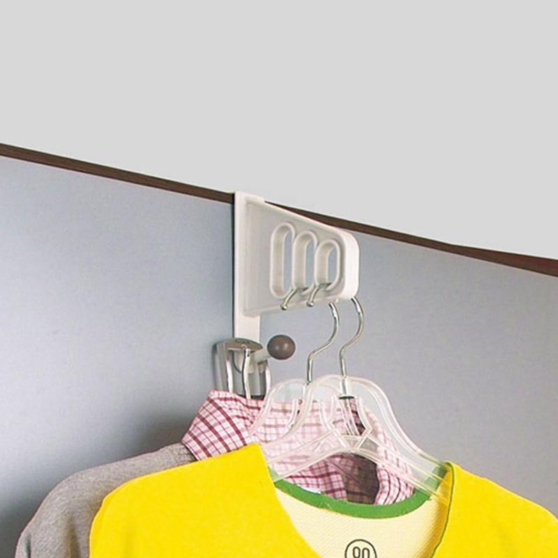 Multi-function Wall Door Hangers Hook Towel Holder Key Hanger Door Hooks Kitchen Cabinet Organizer Draw Towel Hanger Holder