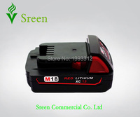New Replacement Cordless Drill Power Tools Lithium Ion Battery For Milwaukee M18 XC 18V 1 5ah