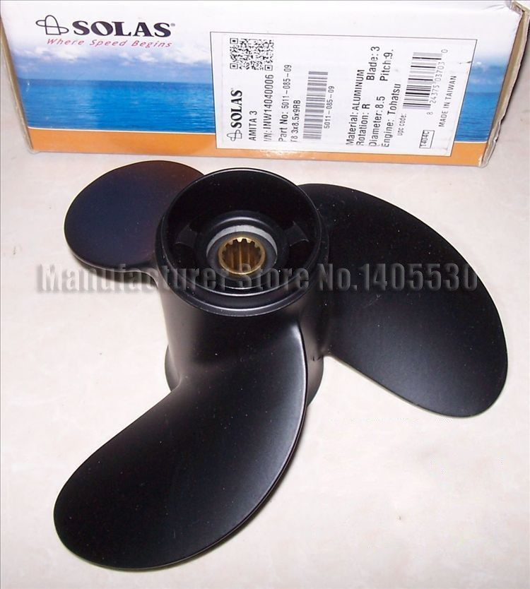 Competitive price Outboard Motor Parts Propeller 7 8x 8