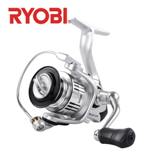 RYOBI ZEUS Spinning fishing reels 2000/3000/4000/6000/8000  6+1BB Max drag 10kg Saltewater Carp Fishing Reel Water Resistance new ryobi accurist 2000 3000 4000 fishing spinning reel 4 1bb 3kg 5kg max drag reels fishing wheels metal spool saltwater