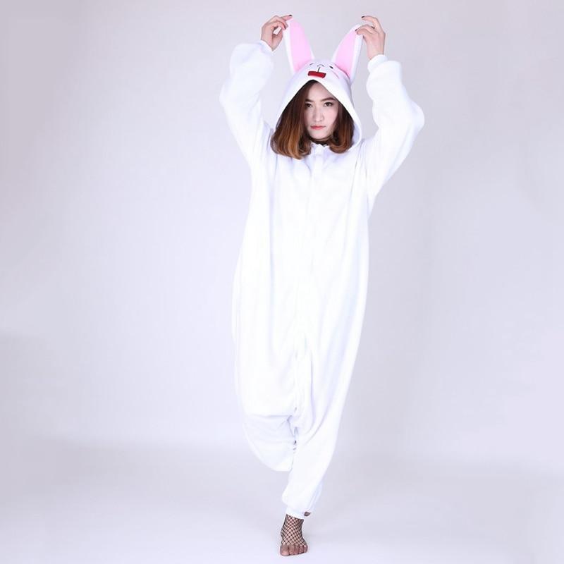 JINUO Rabbit Women Soft comfortable Pajamas pyjama lapin adulte onesie pijamas de animales de una sola pieza For adults