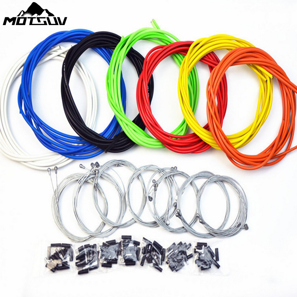 Motsvu Housing Cable Hose Kit Brake Shifter For Bicycle derailleur Brake Cable & Shiftin ...