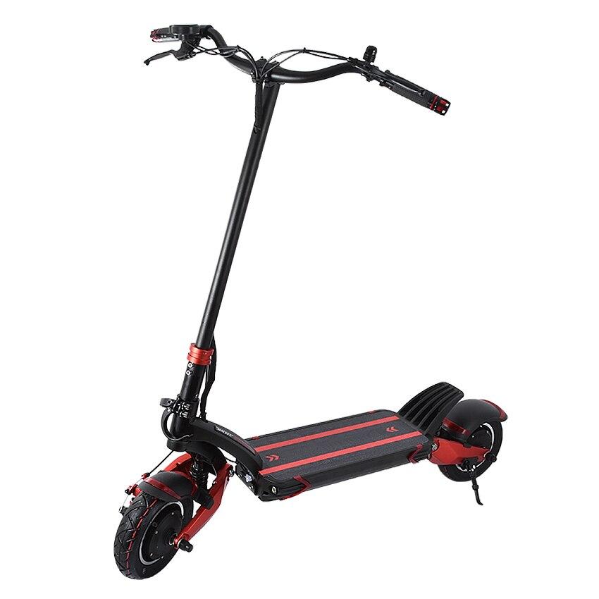 48V simple/Double lecteur tout-terrain Scooter électrique planche à roulettes E Scooter 10 pouces roue au lieu de marcher 10.4Ah/18.2Ah/23Ah