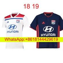 da4a600b 18 19 adult Olympique Lyonnais soccer Jersey ABILY LACAZETTE GHEZZAL  MEMPHIS VALBUENA FEKIR 2018 19 Lyon