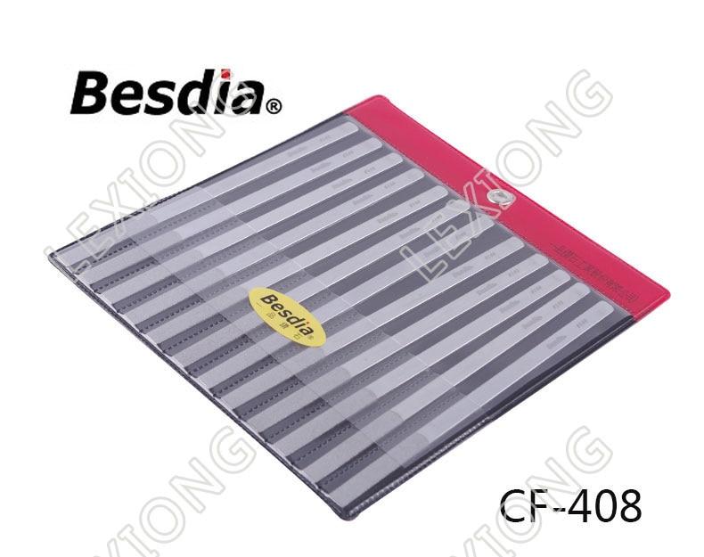 台湾BesdiaダイヤモンドフラットハンドファイルCF-400 - ハンドツール - 写真 5