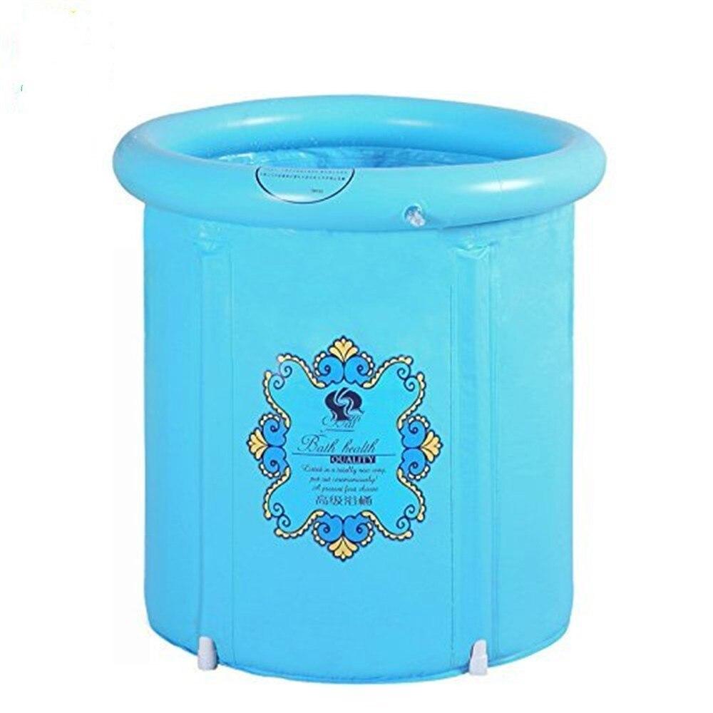 heavy duty formato adulto pieghevole vasca da bagno vasca da bagno gonfiabile vasca da