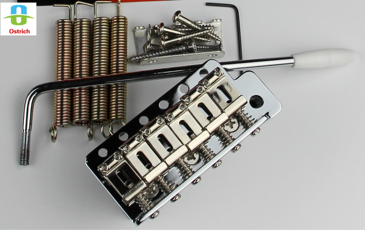 Electric Guitar Vintage Style Tremolo Bridge Full Size Steel Block For Electric Guitar Single Shaking Vibrato System