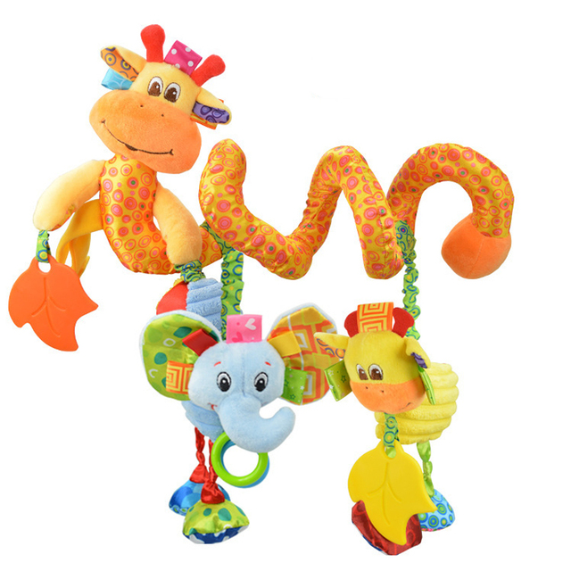 Baby Bed Animals Shaped Toys