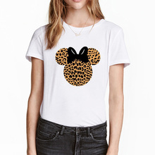FIXSYS Fashion Women T-shirt Graphic Tees Summer T Shirt Streetwear Harajuku Tops Tee Cartoon T-shirts Femle White