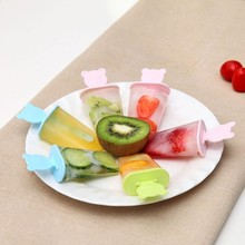 BF040 Creative Lovely DIY bear Popsicle mold ice cream The sector model 12*10.2*8cm free shipping