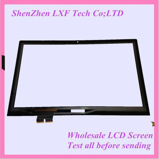 "Nuevo 15.6 "" LCD pantalla táctil exterior cristal del Sensor del Panel táctil digitalizador para Lenovo Flex 2 15 reparación de parte de reemplazo"