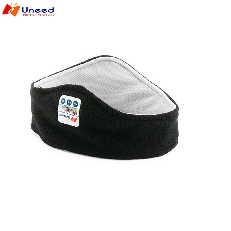 Uneed Sports Sleep Bluetooth Headsets Sweat Absorbing Scarf Bluetooth 4.0 Sports Headband For Music Mobile Phone