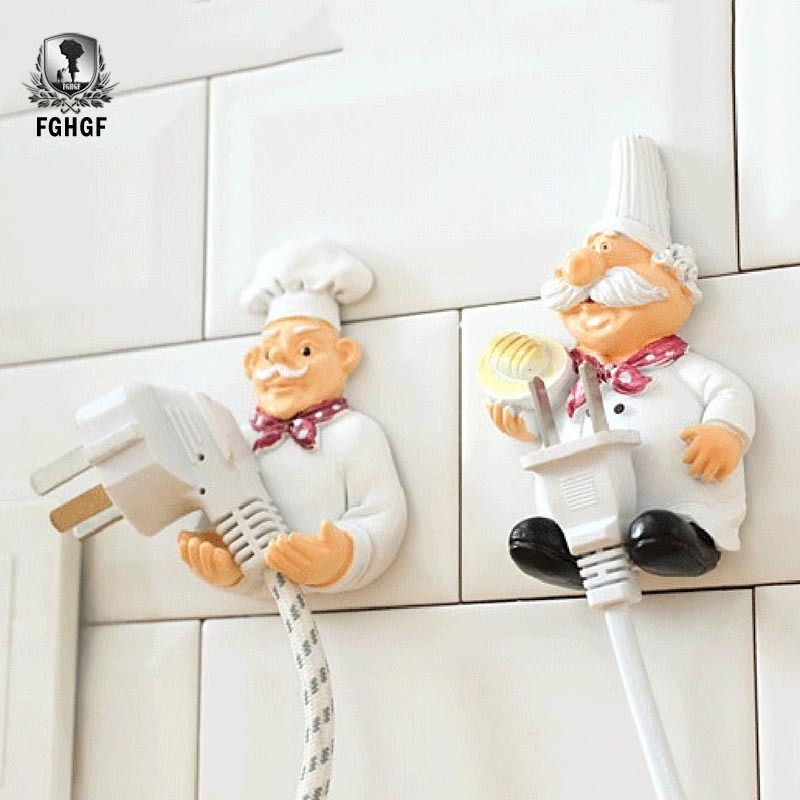 FGHGF 1 Pcs Hot Cartoon Fourth Resin Storage Rack Support Plug Sockets Hanger