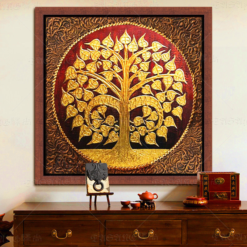 Online kopen wholesale boeddha bodhiboom uit china boeddha bodhiboom groothandel - Gang schilderij ...