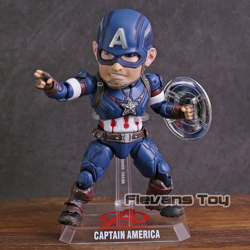 Egg Attack Action EAA 011 Captain America PVC Action Figure Collectible Model Toy