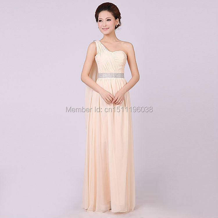 Wholesale REAL Different Styles Nude Pink Bridesmaid Dresses Sexy ...