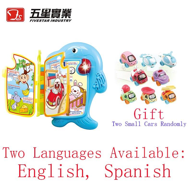 Livre d'apprentissage en plastique enfants jouets éducatifs jouets interactifs pour bébé jouets d'apprentissage pour bébé apprendre l'anglais enfants cadeau d'anniversaire