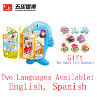 Plastic learning book kids toys educational interactive toys for baby learning toys for baby learn english kids birthday gift
