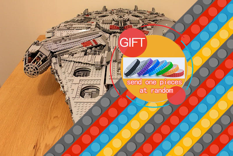 05033 5265Pcs Star Series Ultimate war Collector's Millennium Falcon set Model Building Kit Blocks Compatible 10179 Toys lepin банный комплект softline 05033