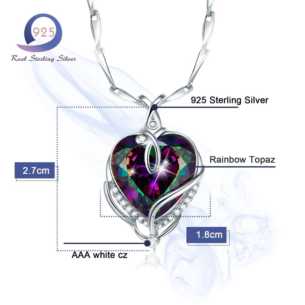 Merthus Trendy 925 Sterling Silber Chian Halskette Mystic - Edlen Schmuck - Foto 3