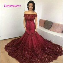 LEIYINXIANG 2019 Wedding Dress Sexy Mermaid Bride Gown