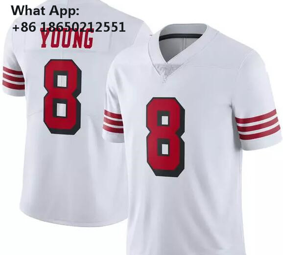 cead40b4a 25 Richard Sherman 10 Jimmy Garoppolo Jersey 56 Reuben Foster 16 Joe  Montana Rice Sanders McGlinchey 7 Colin Kaepernick-in T-Shirts from Men s  Clothing on ...