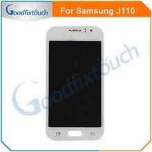 Для Samsung Galaxy J1 Ace J110 J120 100% тест хорошее качество ЖК-дисплей с кодирующий преобразователь сенсорного экрана в сборе запасные части