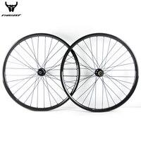 Велосипедный Спорт Колёса 29er 27.5er 27 мм 30 мм 35 мм 40 мм горный велосипед углерода Колёса MTB бескамерные Велосипедный Спорт обода колёса et