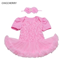 Schön CHICCHERRY Rose Baby Valentine Gift Lace Party Dress