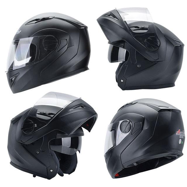 Andes Motorcycle Helmet Full Face Moto Helmets Motorbike Scooter Unisex Biker Motocross Casco Moto Capacetes With Anti-fog Visor