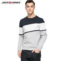 JackJones gloednieuwe Aankomst mannen print katoen Patchwork T-shirt mannen mode T-shirts 216133008