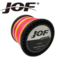 JOF Braided Fishing Line 500m PE Material Line Multifilament Fishing Cord 0 6 20 0 Wire