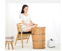Sauna Steam Solid wood bubble foot barrel Foot Tub Steamed feet Sweat Steam Machine Personal Care Appliances