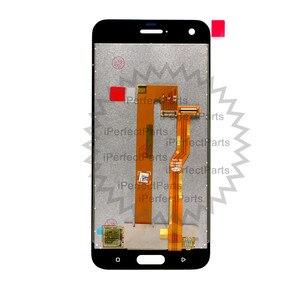 Image 4 - أسود/أبيض 5.0 بوصة استبدال إصلاح أجزاء ل HTC واحد A9S شاشة الكريستال السائل مجموعة المحولات الرقمية لشاشة تعمل بلمس ل HTC A9S LCD + أداة
