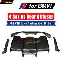 carbon fiber Car rear bumper lip spoiler diffuser for BMW F80 M3 F82 F83 M4 2013 18 Standard And Convertible SPM Style 420i 440i