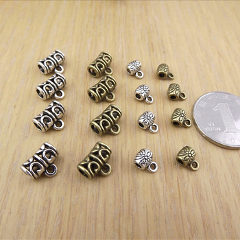 Jewelry finding & components parts Handmade beaded material diy jewelry accessories
