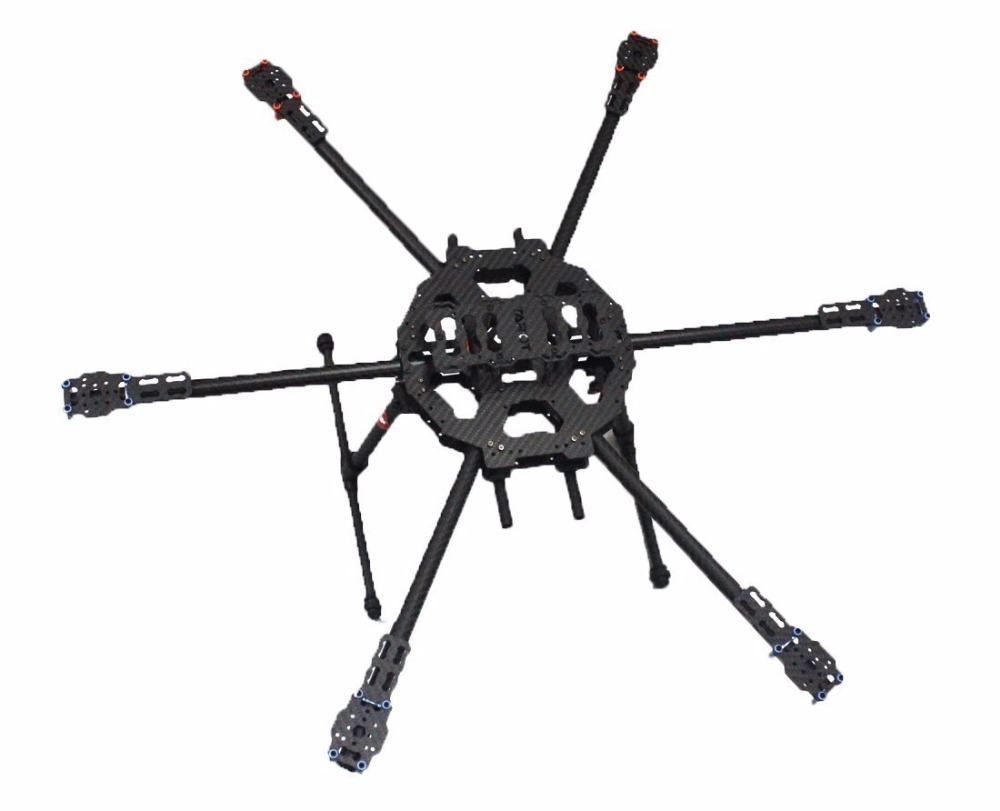 Weyland Tarot FY680 3K Pure Carbon Fiber 6 Axis Full Folding Hexacopter 680mm Aircraft Frame Kit TL68B01 FPV Aerial photo frame tarot 680pro folding carbon fiber 6 axis quad fy680 tl68p00 freetrack shipping