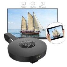 Digital HDMI Media Streamer De Vídeo segunda Geração Mais Recente Exibição Wi-Fi Receptor de TV Vara para iOS Android