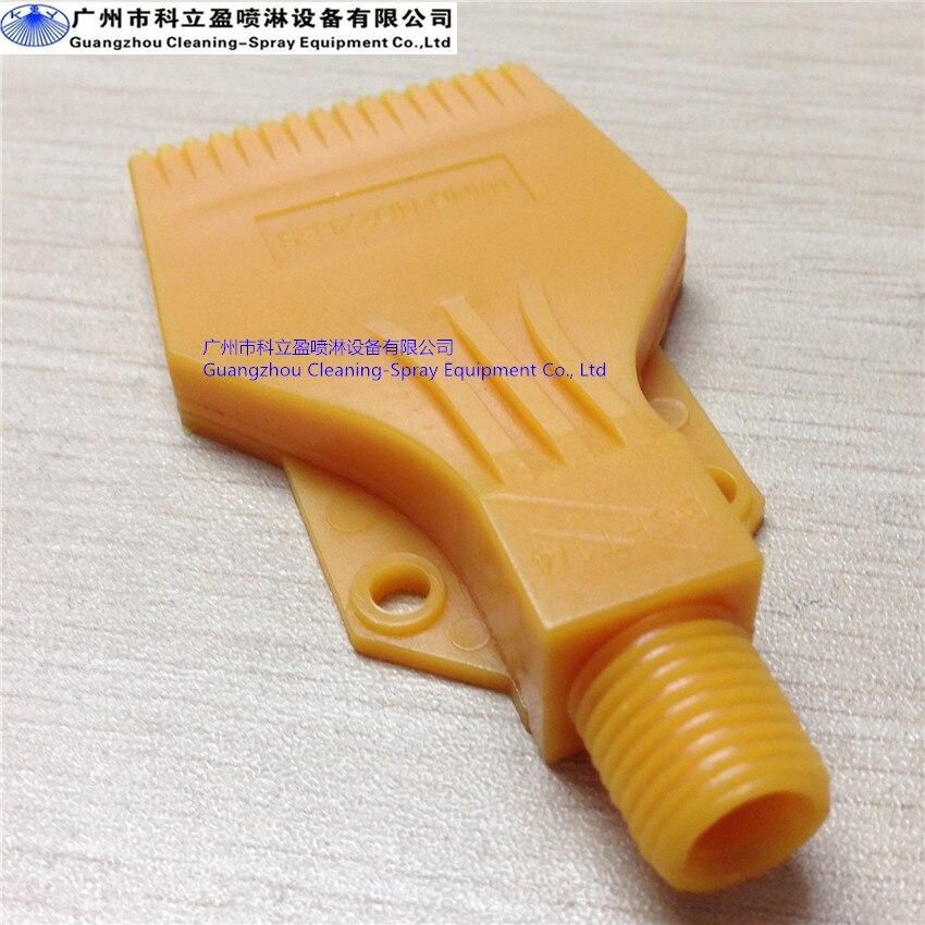 10 Pcs Per Lot Abs Plastic Compressed Air Air Nozzle For