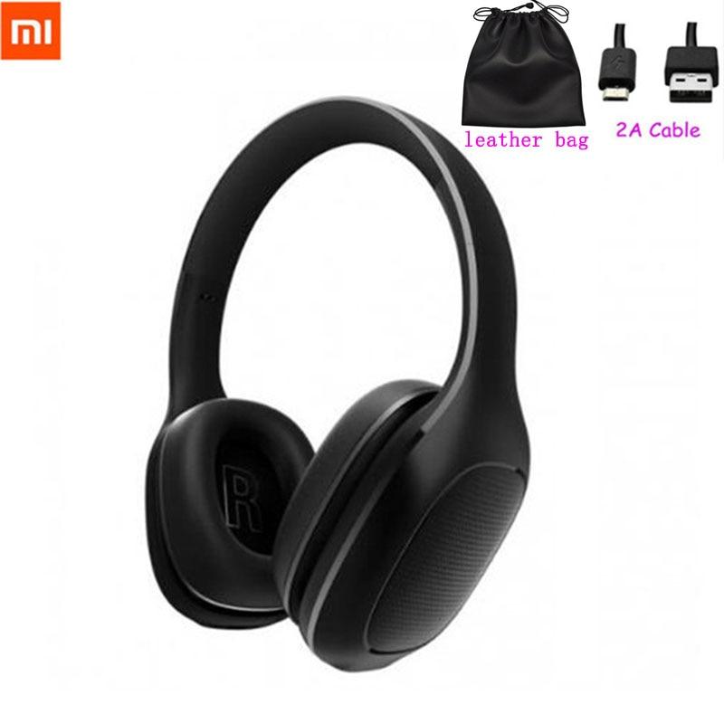 2018 Xiaomi Mi Bluetooth Wireless Headphones 4 1 Version Bluetooth Earphone aptX 40mm Dynamic PU Headset