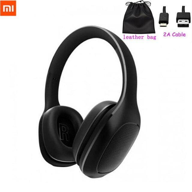 2020 Xiaomi Mi Bluetooth Drahtlose Kopfhörer 4,1 Version Bluetooth Kopfhörer aptX 40mm Dynamische PU Headset Für Handy Spiele