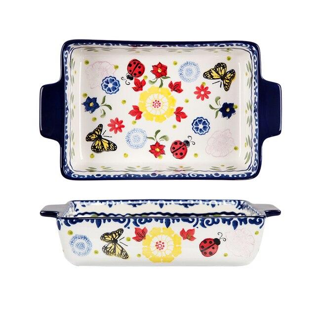 Rectangular Ceramic Tableware