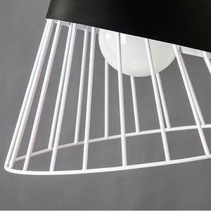 Image 5 - モダンな木製ペンダントライトlamparasカラフルな鉄ランプシェード照明器具ダイニングルームライトペンダントランプ用ホーム照明