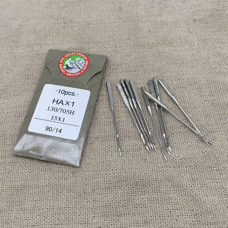 90/14 HA*1 Sewing Needles Japan ORGAN House Sewing Machine Needles for JUKI DDL-555 SINGER BROTHER Sewing Needles