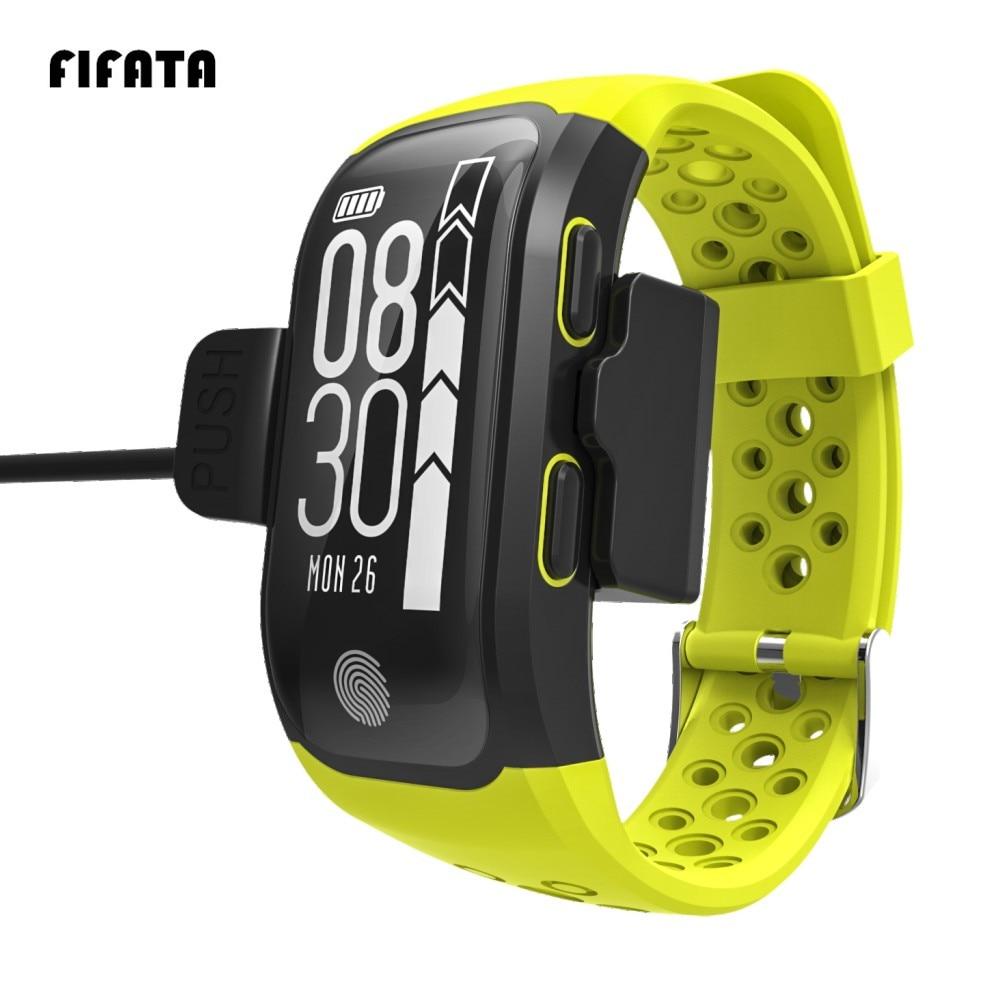 FIFATA S908 GPS Smart Band IP68 Waterproof Sports Wristband Multiple sports Heart Rate Monitor Fitness Tracker Smart Band цена